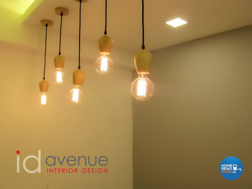 Modern, Scandinavian Design - Dining Room - HDB 4 Room - Design by ID Avenue Pte Ltd (Interior Design Avenue)