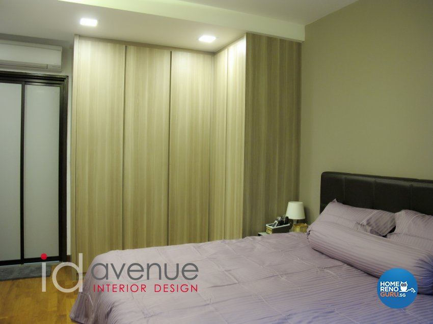 Modern, Scandinavian Design - Bedroom - HDB 4 Room - Design by ID Avenue Pte Ltd (Interior Design Avenue)