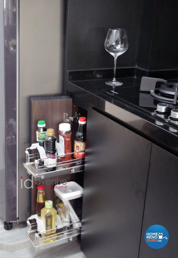 Contemporary Design - Kitchen - HDB 5 Room - Design by ID Avenue Pte Ltd (Interior Design Avenue)