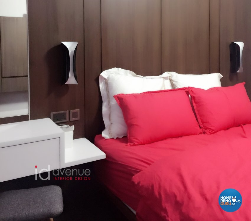 Contemporary Design - Bedroom - HDB 5 Room - Design by ID Avenue Pte Ltd (Interior Design Avenue)