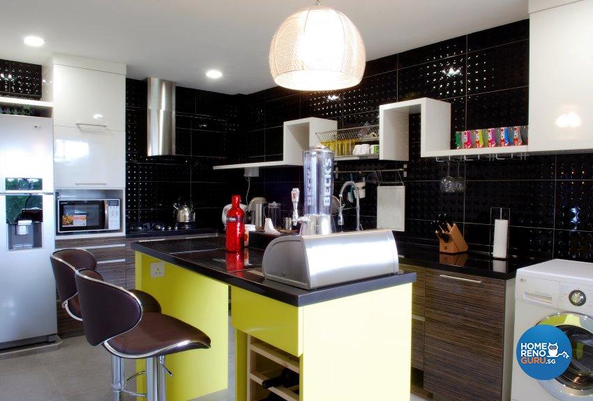 Contemporary, Modern Design - Kitchen - HDB Executive Apartment - Design by ID Avenue Pte Ltd (Interior Design Avenue)
