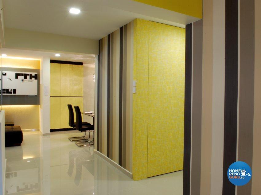 Contemporary, Modern Design - Living Room - HDB Executive Apartment - Design by ID Avenue Pte Ltd (Interior Design Avenue)