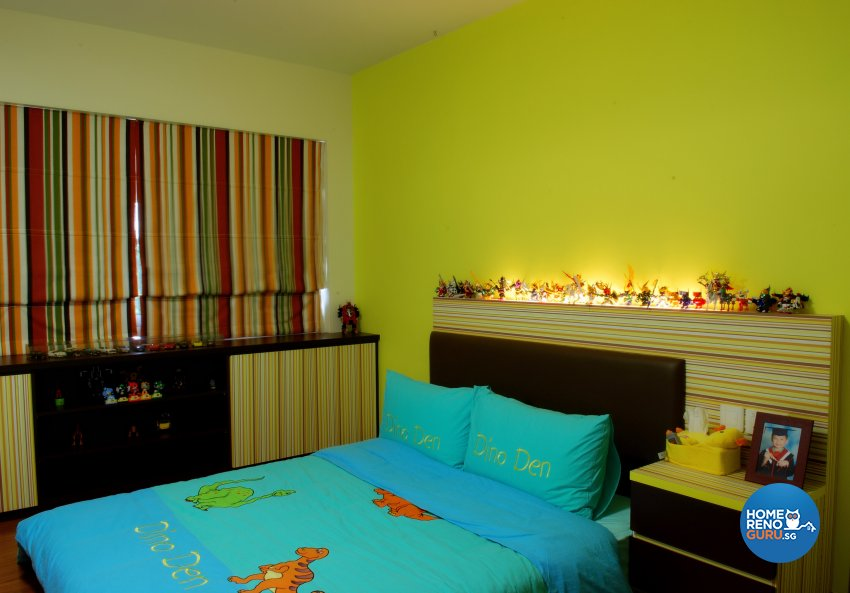 Contemporary, Modern Design - Bedroom - HDB Executive Apartment - Design by ID Avenue Pte Ltd (Interior Design Avenue)
