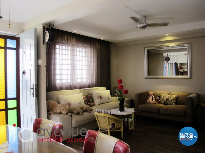 Others Design - Living Room - HDB 3 Room - Design by ID Avenue Pte Ltd (Interior Design Avenue)