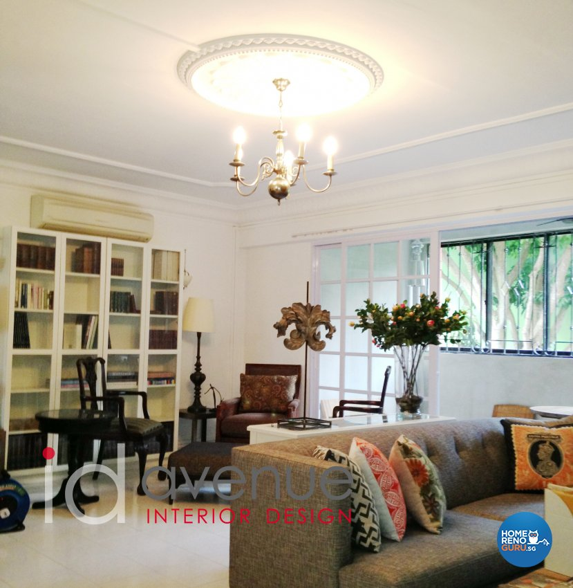 Rustic, Vintage Design - Study Room - HDB 4 Room - Design by ID Avenue Pte Ltd (Interior Design Avenue)