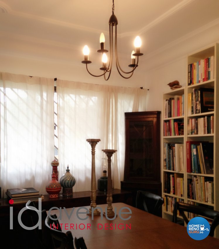 Rustic, Vintage Design - Dining Room - HDB 4 Room - Design by ID Avenue Pte Ltd (Interior Design Avenue)