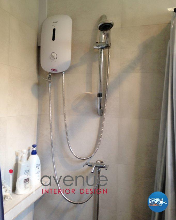 Rustic, Vintage Design - Bathroom - HDB 4 Room - Design by ID Avenue Pte Ltd (Interior Design Avenue)