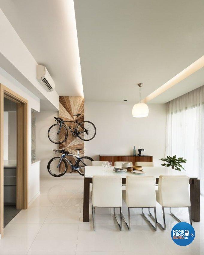 Minimalist, Scandinavian Design - Dining Room - Condominium - Design by Ko Hong Construction Pte Ltd