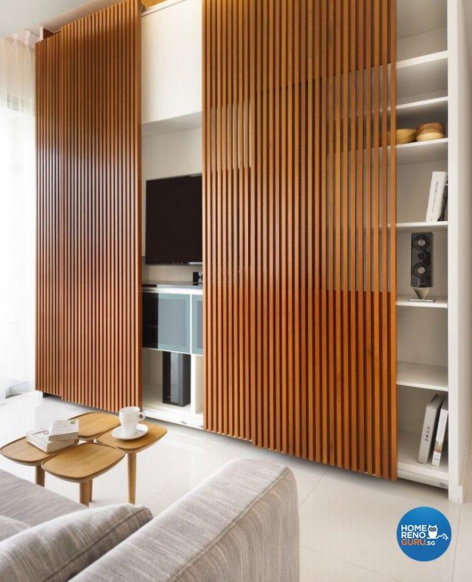 Minimalist, Scandinavian Design - Living Room - Condominium - Design by Ko Hong Construction Pte Ltd