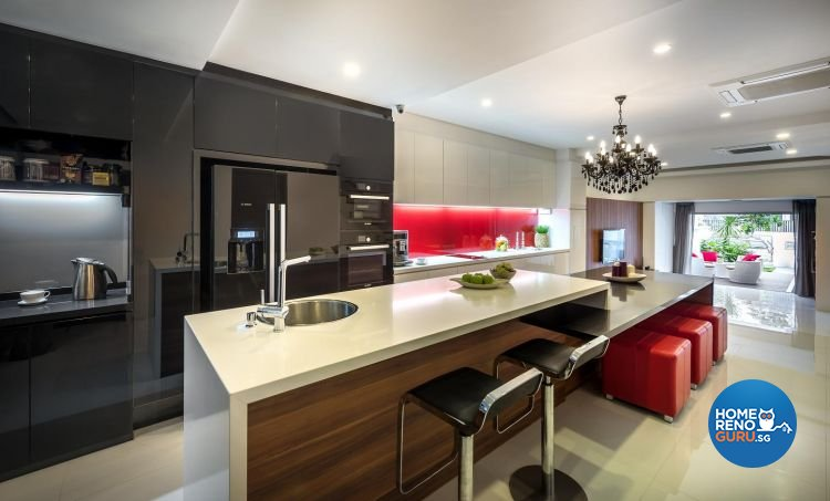 Classical, Eclectic, Modern Design - Kitchen - Landed House - Design by Ko Hong Construction Pte Ltd