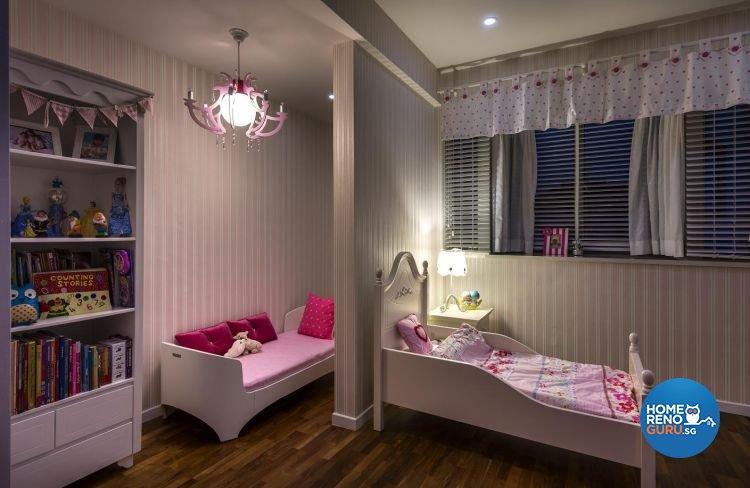 Classical, Eclectic, Modern Design - Bedroom - Landed House - Design by Ko Hong Construction Pte Ltd