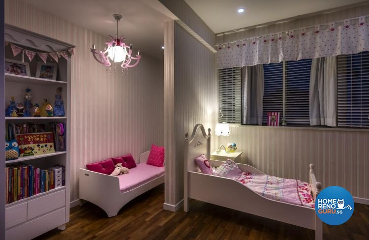 Classical, Eclectic, Modern Design - Bedroom - Landed House - Design by Ko Hong Construction Pte Ltd