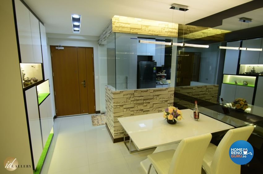 Modern Design - Dining Room - HDB 4 Room - Design by ID Gallery Pte Ltd
