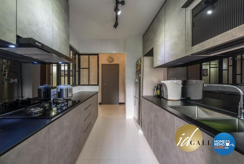 Modern Design - Kitchen - HDB 3 Room - Design by ID Gallery Pte Ltd
