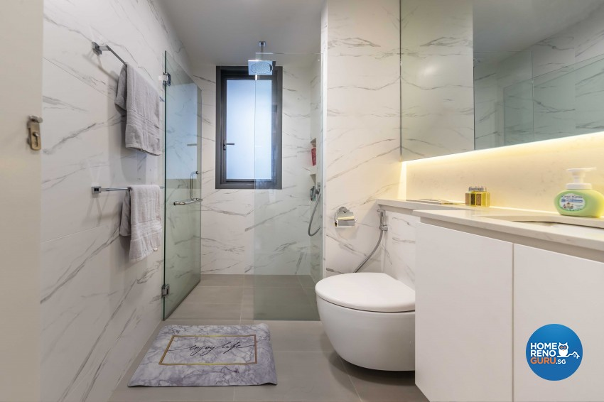 Modern, Victorian Design - Bathroom - Condominium - Design by ID Gallery Pte Ltd