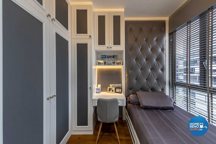 Modern, Victorian Design - Bedroom - Condominium - Design by ID Gallery Pte Ltd