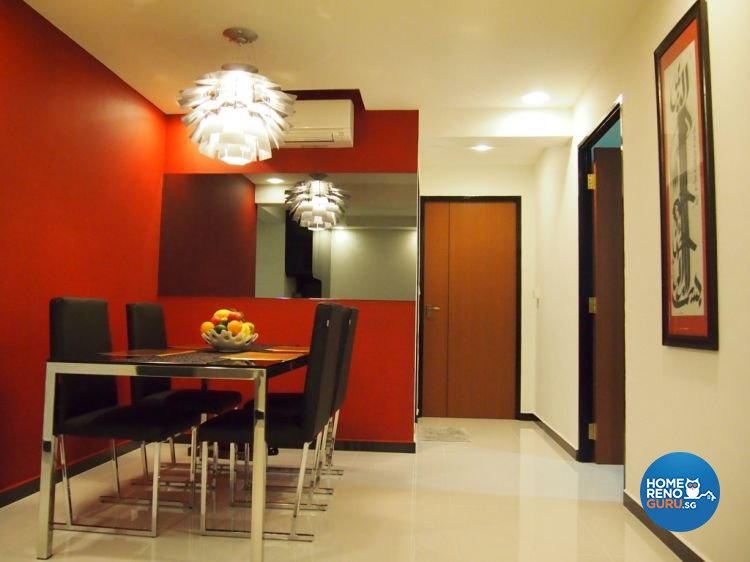 Contemporary, Modern Design - Dining Room - HDB 4 Room - Design by ID Note Design & Build Pte Ltd