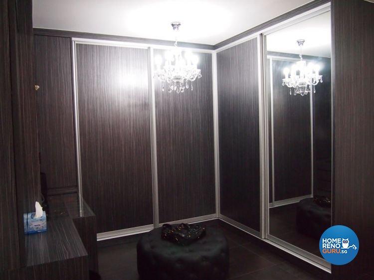 Contemporary, Modern Design - Bedroom - HDB 4 Room - Design by ID Note Design & Build Pte Ltd
