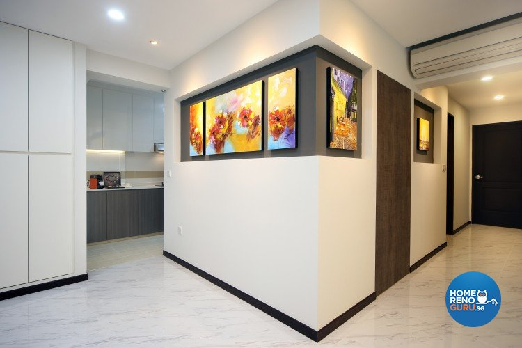 Contemporary, Modern Design - Dining Room - HDB 5 Room - Design by Ideal Concept Design