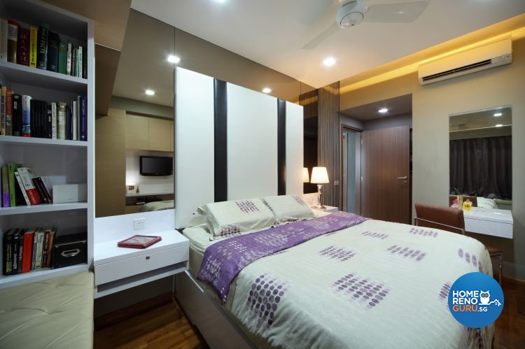 Contemporary, Eclectic, Modern Design - Bedroom - Condominium - Design by Ideal Concept Design