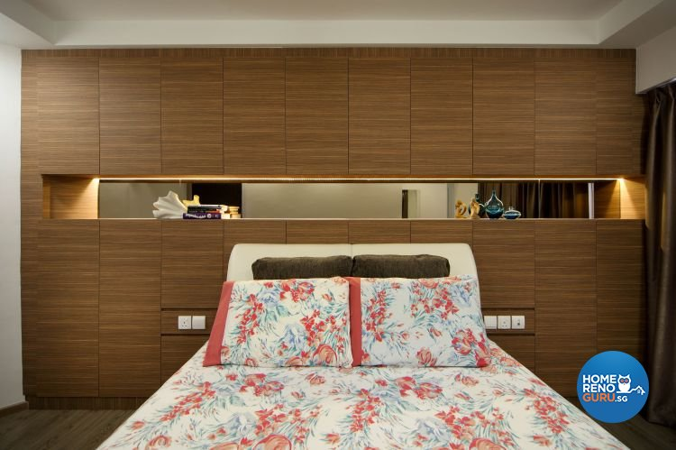 Contemporary, Modern Design - Bedroom - HDB 5 Room - Design by Ideal Concept Design