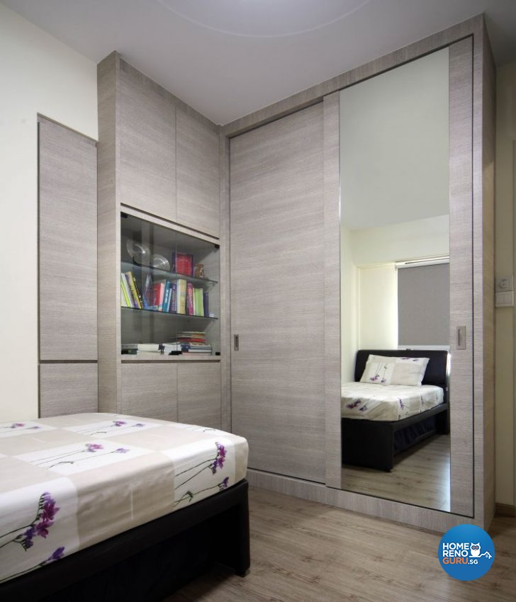 Contemporary, Modern Design - Bedroom - HDB 5 Room - Design by Ideal Concept Design