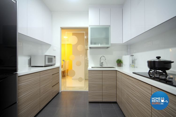 Contemporary, Modern Design - Kitchen - HDB 5 Room - Design by Ideal Concept Design