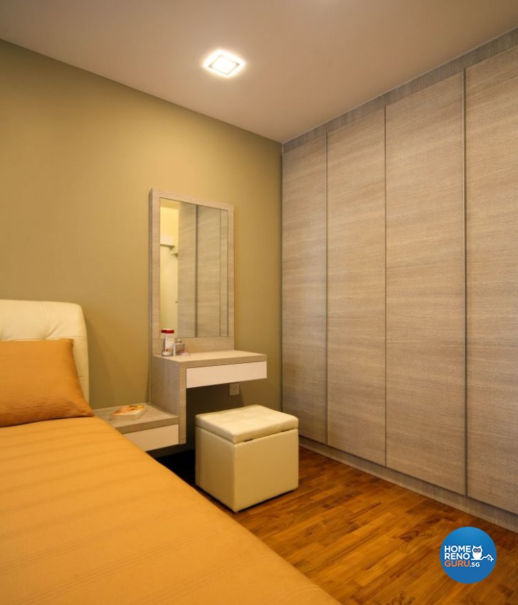 Contemporary, Minimalist, Scandinavian Design - Bedroom - HDB 5 Room - Design by Ideal Concept Design