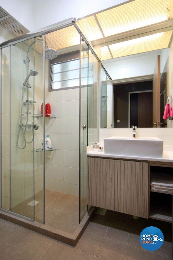 Contemporary, Minimalist, Scandinavian Design - Bathroom - HDB 5 Room - Design by Ideal Concept Design