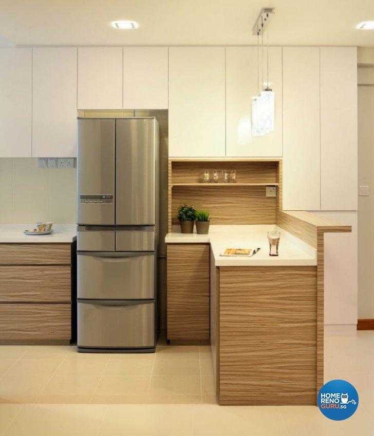 Contemporary, Minimalist, Scandinavian Design - Kitchen - HDB 5 Room - Design by Ideal Concept Design