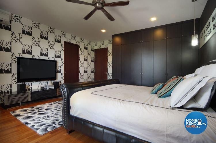 Industrial, Modern, Tropical Design - Bedroom - Landed House - Design by Ideal Concept Design
