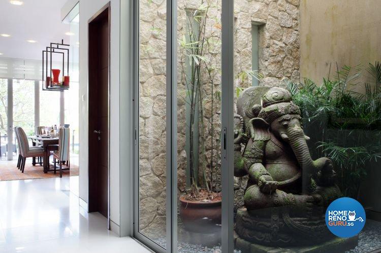 Industrial, Modern, Tropical Design - Living Room - Landed House - Design by Ideal Concept Design