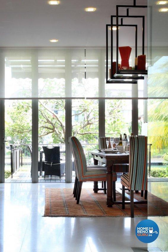 Industrial, Modern, Tropical Design - Dining Room - Landed House - Design by Ideal Concept Design