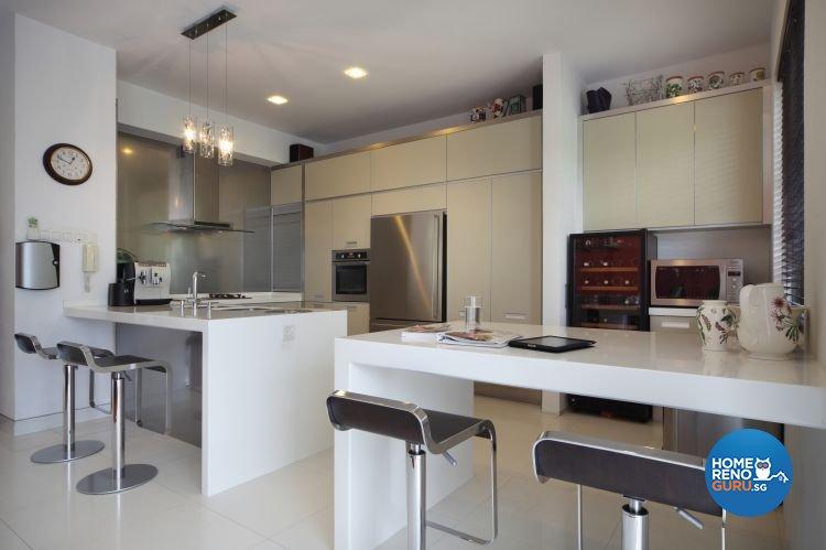 Industrial, Modern, Tropical Design - Kitchen - Landed House - Design by Ideal Concept Design