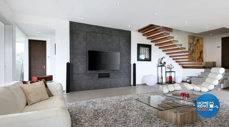 Contemporary, Modern, Scandinavian Design - Living Room - Condominium - Design by Ideal Concept Design