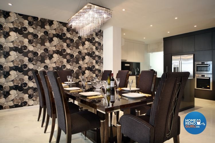 Contemporary, Minimalist, Modern Design - Dining Room - Condominium - Design by Ideal Concept Design