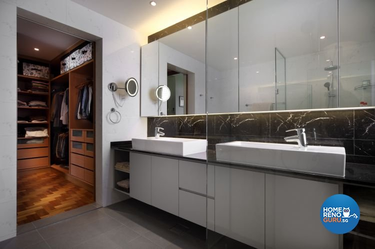 Contemporary, Minimalist, Modern Design - Bathroom - Condominium - Design by Ideal Concept Design