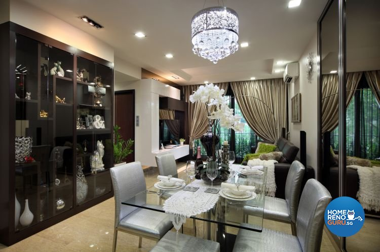 Classical, Contemporary Design - Dining Room - Condominium - Design by Ideal Concept Design