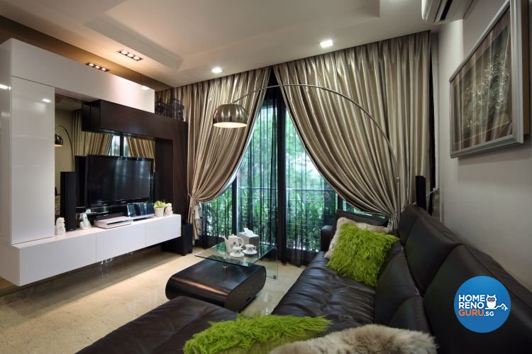 Classical, Contemporary Design - Living Room - Condominium - Design by Ideal Concept Design