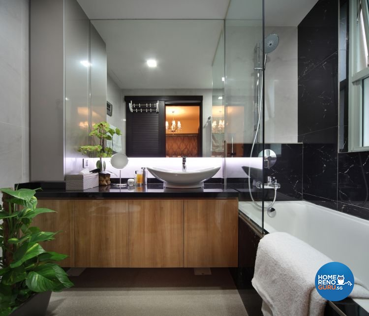 Classical, Contemporary Design - Bathroom - Condominium - Design by Ideal Concept Design