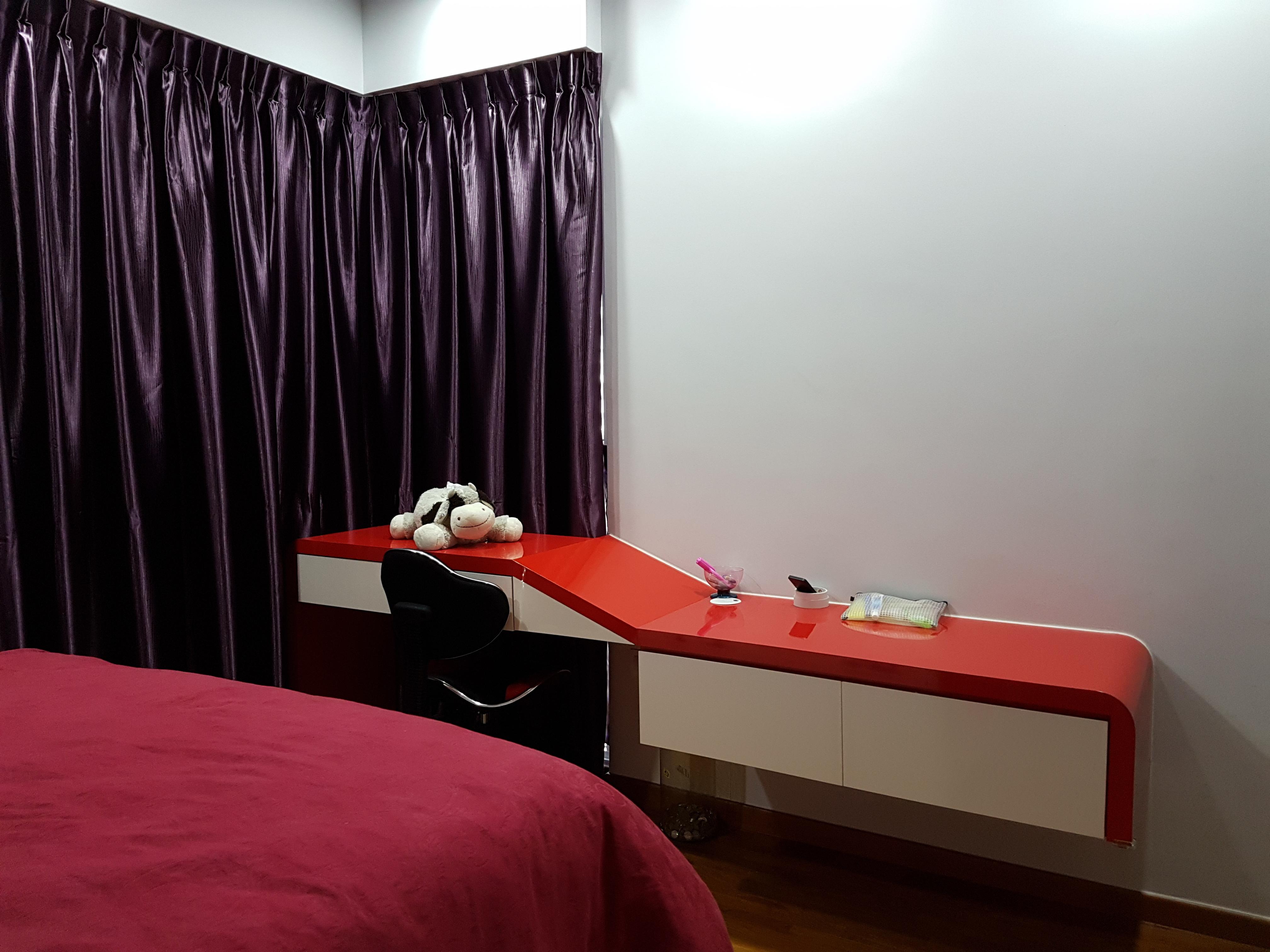Contemporary Design - Bedroom - Condominium - Design by Ideal Design Interior Pte Ltd