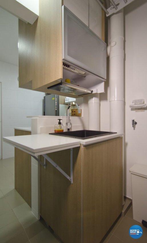 Contemporary, Industrial, Modern Design - Kitchen - HDB 5 Room - Design by Ideal Design Interior Pte Ltd