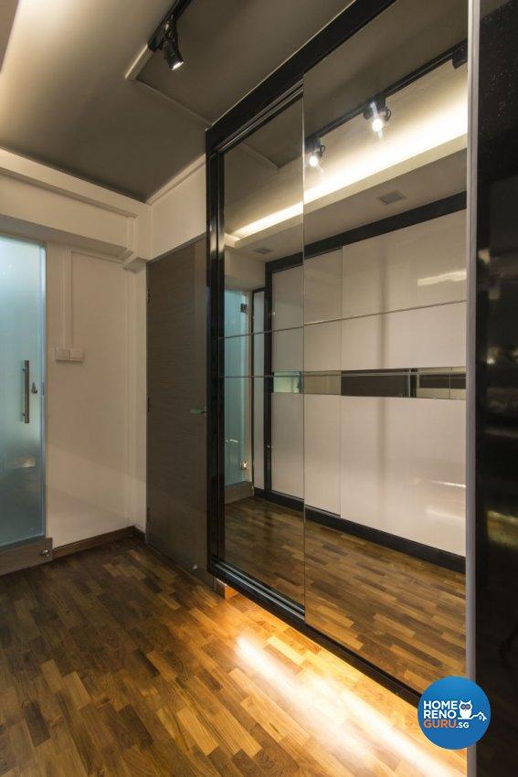 Contemporary, Modern Design - Bedroom - HDB Executive Apartment - Design by Ideal Design Interior Pte Ltd