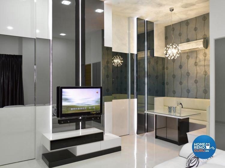 3 room bto renovation package hdb renovation for Hdb household shelter design