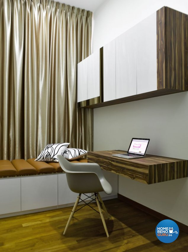 Contemporary, Modern Design - Study Room - Condominium - Design by Ideal House Pte Ltd