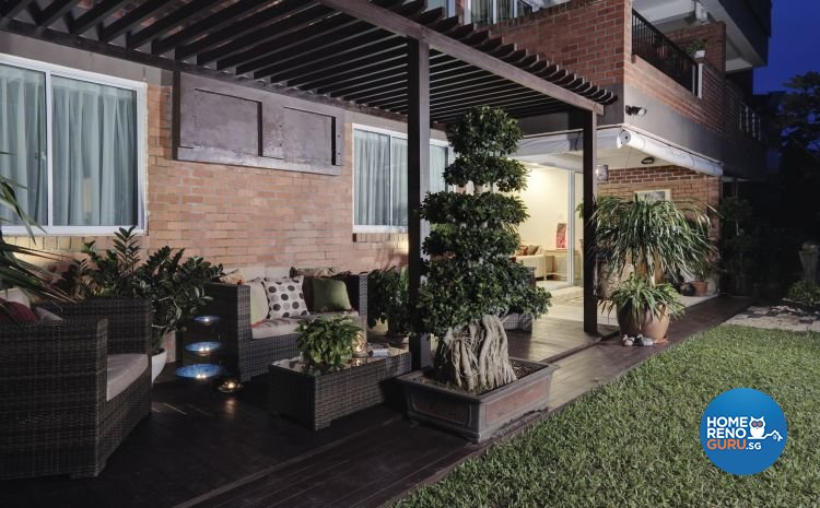 Country, Modern, Tropical Design - Balcony - Condominium - Design by Idees Interior Design