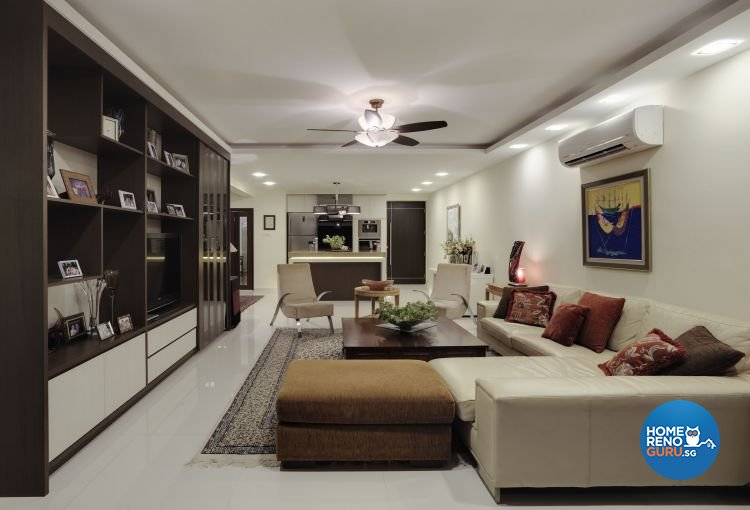 Country, Modern, Tropical Design - Living Room - Condominium - Design by Idees Interior Design