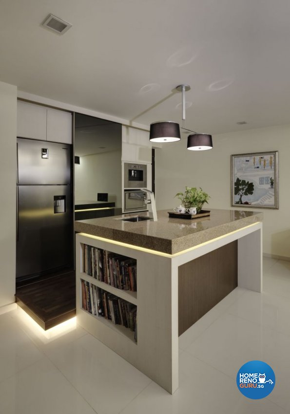 Country, Modern, Tropical Design - Kitchen - Condominium - Design by Idees Interior Design