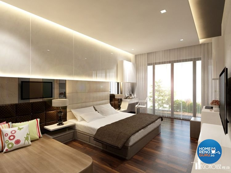 Classical, Contemporary, Minimalist Design - Bedroom - Condominium - Design by Idees Interior Design
