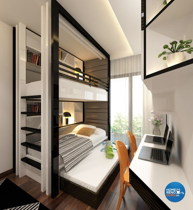Singapore Condo Interior Design: Idees Interior Design Condo 3 Bedroom At The Interlace 818